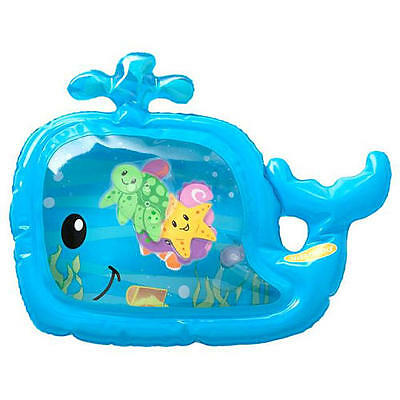 Infantino Baby Toddler Pat & Play Water Mat Whale - Touch Sensory Learning Toy