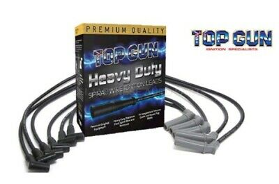 TopGun Spark Plug Leads suits Holden Commodore VS VT VX VY set of 6