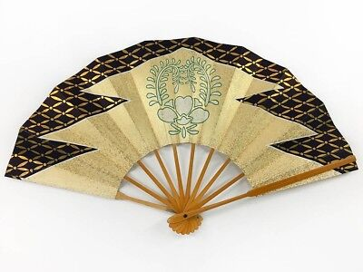 Vintage Japanese Geisha Odori 'Maiogi' Folding Dance Fan from Kyoto: MayB