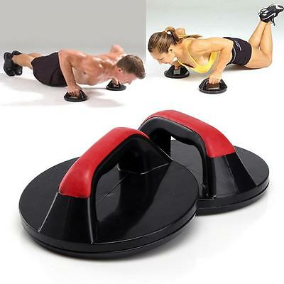Professional Push Up Pro Rotating Grips Upper Body Gym Fitness Strength Ws&