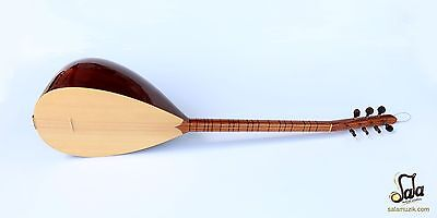 Turkish Professional Short Neck Juniper Baglama Saz Mss-105-2