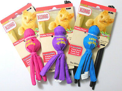 Kong cat wubba teaser various colours