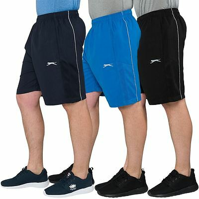 Slazenger Mens Casual Sport Shorts Elasticated Waist Gym Bottoms Running Pants