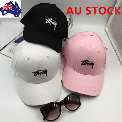 AU Unisex Adjustable Baseball Hip Hop Kpop Bboy Cap Outdoor Sun Snapback Hats