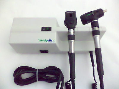 Welch Allyn Macroview Wall Diagnostic Otoscope Ophthalmoscope 110V Transformer