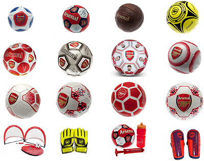 Arsenal FC Football All Different Design& Size Goalkeeper gloves Shinpads Gift