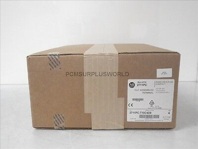 2711PC-T10C4D8 2711PCT10C4D8 Allen Bradley Panelview  (New Sealed 2016)
