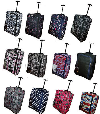 Hand Luggage Suitcase Ryanair Wheeled Trolley Travel Case Bag easy-jet