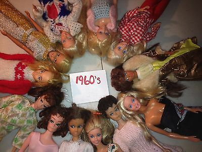 1962 & 1966 © Vintage Mattel Barbie & Doll Collectible Lot LOOKING FOR OFFERS