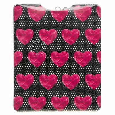 Pocket Mi Torch Accessorize Pink Heart Diamond Black Maranda Ti