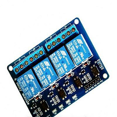 5V 10A 4 Channel Relay Module With optocoupler For PIC AVR DWK ARM Arduino WK&