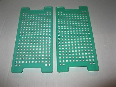 TUPPERWARE ~ REPLACEMENT FRESHNESS GRIDS for Square or Kracker Keeper JADITE