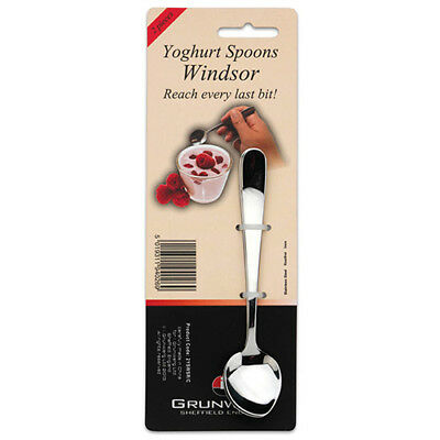 Grunwerg Windsor Set Of 2 Yoghurt Spoons