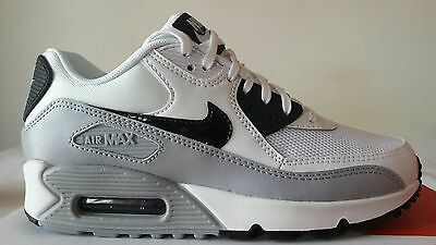 newest 22c53 57386 Nike Air Max 90 97 Wmns Bianca Grigia Nera N.38 New Color Prezzo 100