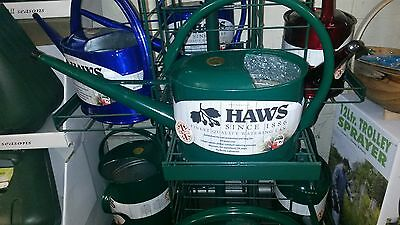 Haws 5 Litre Metal Slim Can - Green