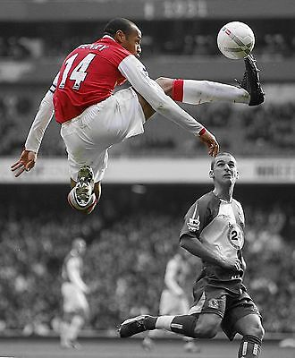 Thierry Henry - F.C. Arsenal - A4/A3 Fotodruck