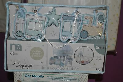 Little Voyage Wind-up Baby mobile - Blue