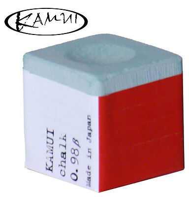 Kamui Cue Chalk For Snooker Cue Or Pool Cue - Kamui Chalk 0.98 In Forest Green