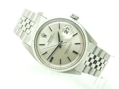 Rare 1972 Gold & Steel Rolex Oyster Perpetual Datejust Gents Vintage Watch