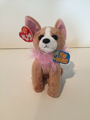 TY PICO the CHIHUAHUA DOG -  2.0 BEANIE BABY - MINT TAGS - UNUSED CODE NEW