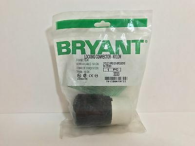 Factory Sealed! Bryant Locking Connector 3333 30A 125/250V 3P 3W Non Grd