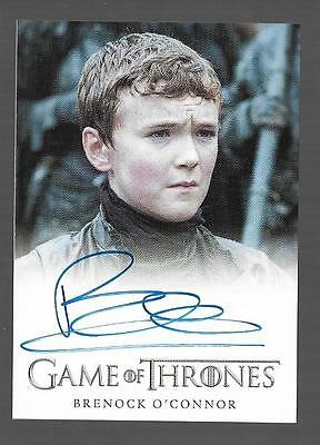 2017 Game of Thrones Season 6 Brenock O'Connor as OLLY Auto