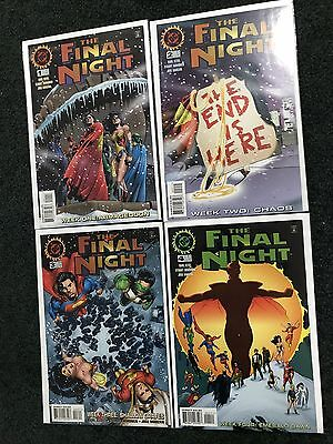DC Comics The Final Night Complete Mini Series 1,2,3,4. Mint