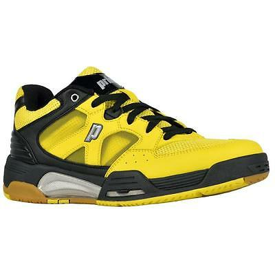 Prince NFS Attack Squash Shoes (Yellow / Black / White)