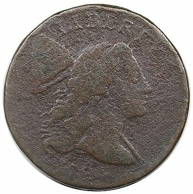 1794 Liberty Cap Large Cent, Head of '94, S-22, AG-G detail