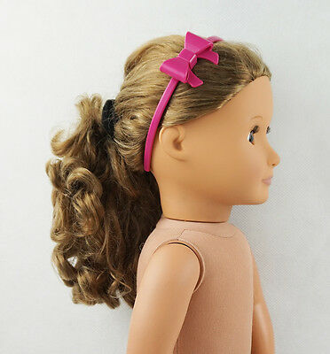 Fit For 18'' American Girl Doll Accessory Girl Gift New With Bowknot Hair Bands