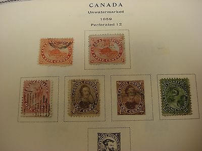 Canada Collection in Scott Specialty Album 1859-1987 - STRONG EARLY - UNCV $2900