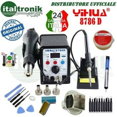 Soldering Station, Desoldering Tool Air Hot Yihua 8786D Tips Paste 4 Nozzles