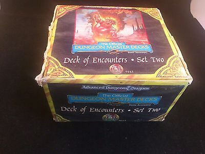 AD&D DECK OF ENCOUNTERS SET TWO Advanced Dungeons & Dragons TSR 9443