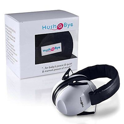 Hush A Bye Safety Infant Hearing Protection Ear muffs, Fully Adjustable NEW