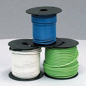East Penn 2438 Black 14 Gauge x 1000' Wire