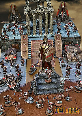 warhammer 40000 Space Marines Sons of sparta chapter odm hobby army's diorama