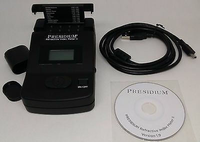 Presidium Refractive Index Meter II includes User Handbook, CD  USB Cable