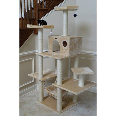 Armarkat Cat Jungle Gym Pet Furniture 72 in. Condo Scratcher - A7202
