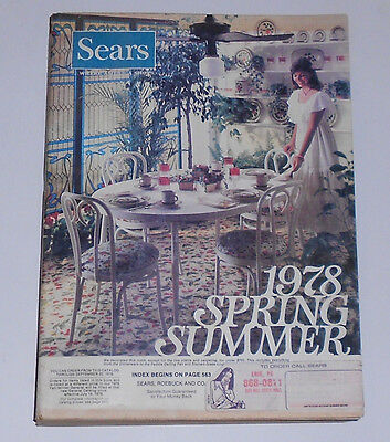 1977 SEARS Spring / Summer Catalog 1970's Fashions Leisure Suits Spyder Bicycles