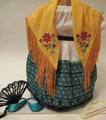 American Girl Josefina Feast Day Outfit 6 Piece Retired