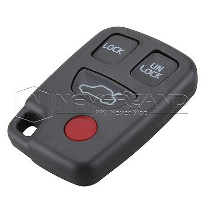 Replacement Keyless Entry Remote Key Fob Shell 4 Botton For Volvo C70 V40 S90