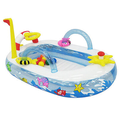 Cartoon Kid Baby Ball Inflatable Lounge Pool Water Outdoor Ground Swimming Pool