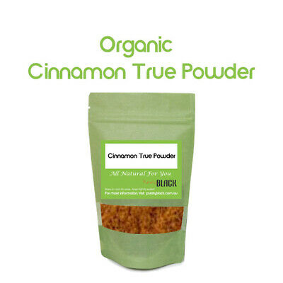 Organic Cinnamon True Fine Powder(Cinnamomum verum)Real Ceylon Herbs Herb Herbal