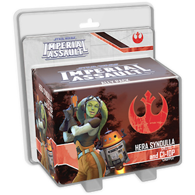 Star Wars Imperial Assault - Hera Syndulla and C1-10P