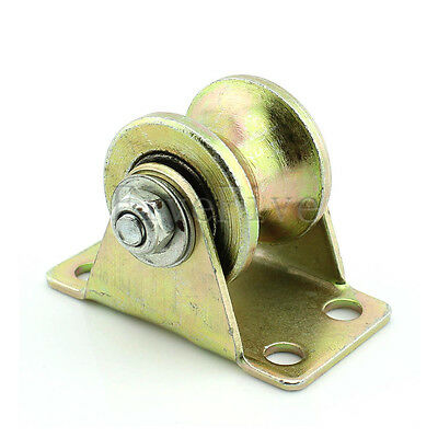 1PCS 1.2'' U Wheel with bearings for Sliding Gate Track Guide Track Pulley