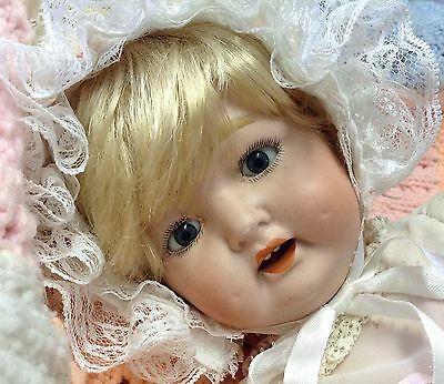 Antique Morimura Brothers Bisque Baby Doll-TLC-Free Ship