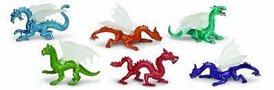 Designer Plastic Miniatures In Toobs-Dragons (n5W)