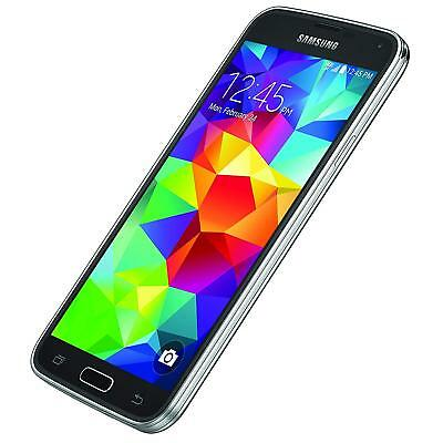 New Samsung Galaxy S5 SM-G900A 16GB-Black At&t Factory Unlocked Smartphone