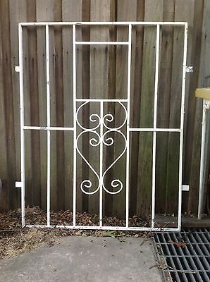 Metal grille wrought iron 107 x 107cm  GREENWICH Sydney