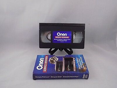 Onan Service Overview Vhs Marquis Platinum Gold And Emerald Advantage.